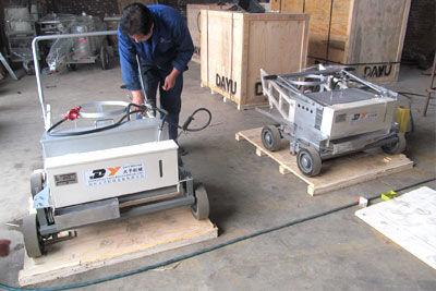 DY-HPTP thermoplastic pedestrian road marking machine
