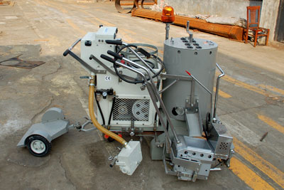 DY-SPTC thermoplastic road marking machine