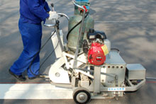 DY SPTP thermoplastic road marking machine
