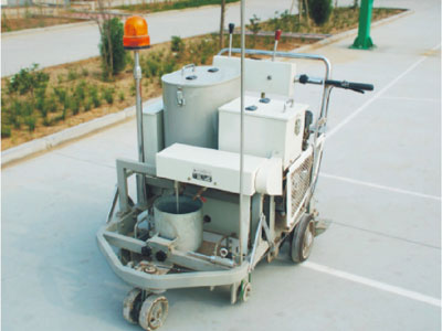 DY-SSTC-I/II Self-propelled Two-component Paint Road Marking Machine