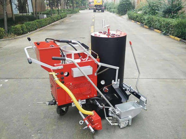 AC-SPT-I/II Self-propelled Thermoplastic Screeding Road Marking Machine