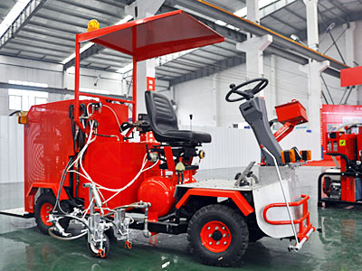 DY-SSAL-I/II Small Driving type Cold Paint Airless Road Marking Machine