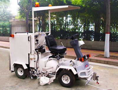 DY-STC Small Driving type Two-Component Paint Road Marking Machine