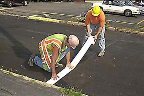 temporary road marking tape